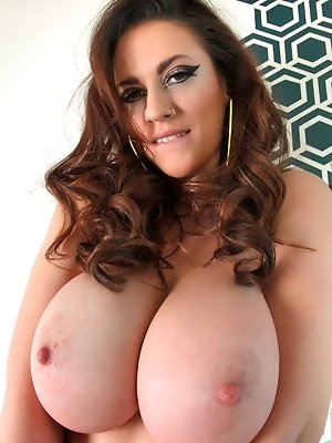 "Hey guys time for your new dose of all-natural big tits on a Monday!  I have the second installment photo set from my ""Marvelous Babe"" shoot"
