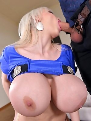 Big Busty Birthday Present: Giant Tits Get Fucked Like Crazy